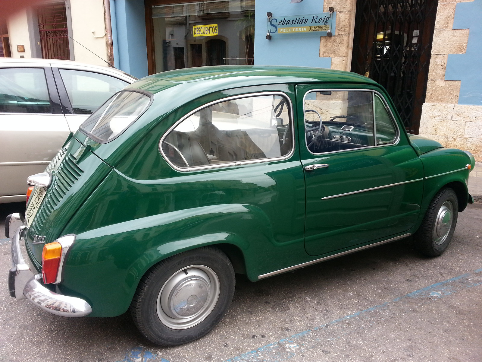 Green Seat 600 D