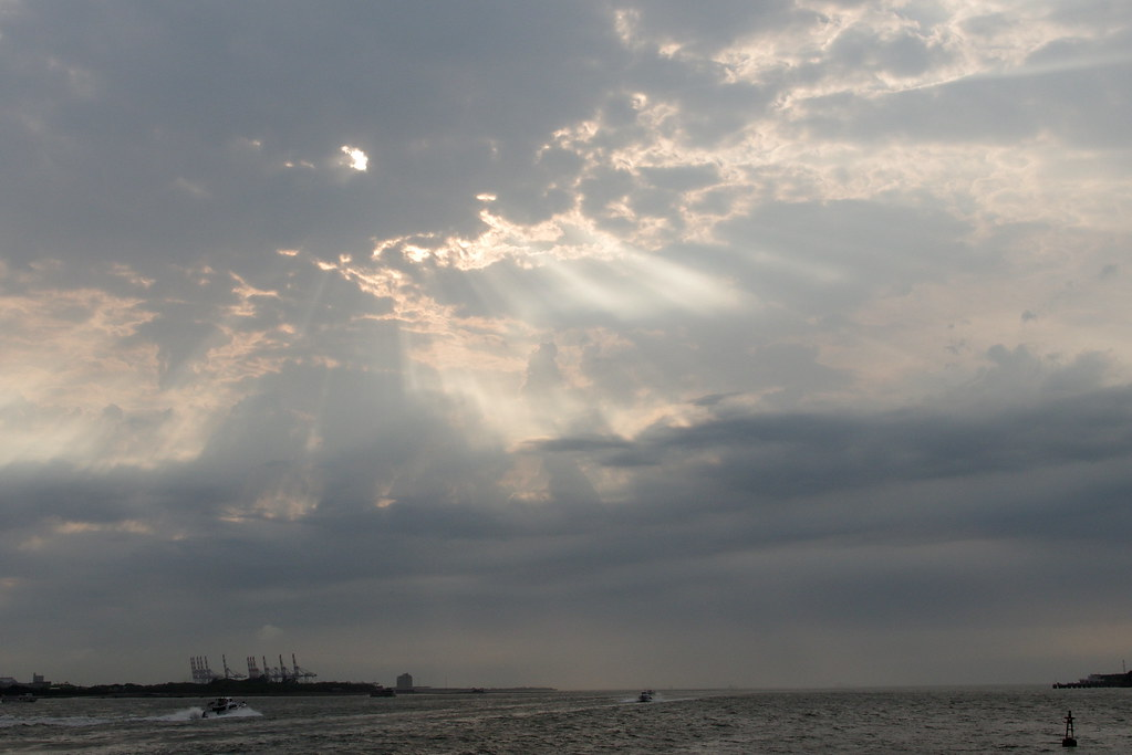 淡水.雲.雨