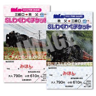 SLわくわくチケット(秩父~三峰口)