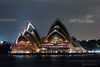 Opera House during Earth Hour 2014