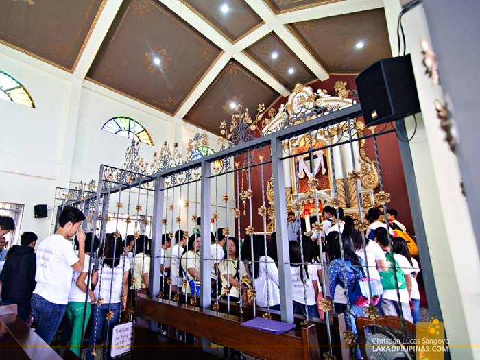 Inside the Chapel at the Monasterio de Tarlac