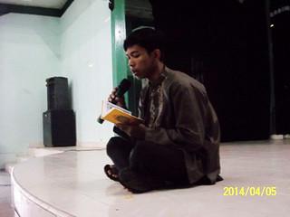 Pembacaan Alquran oleh Sulaiman Nur