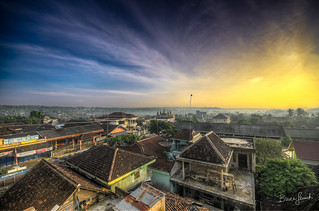The Roof Tops of Kota Agung