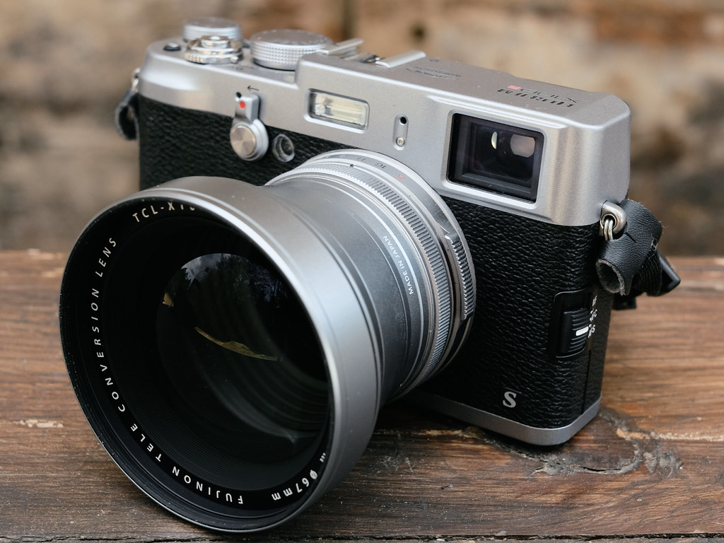 First Look Fujifilm TCL X100 Teleconverter For X100S Cameras