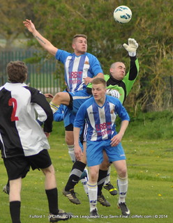 Cliffe FC 3 - 1 Fulford 19Apr14 (League Cup Semi)