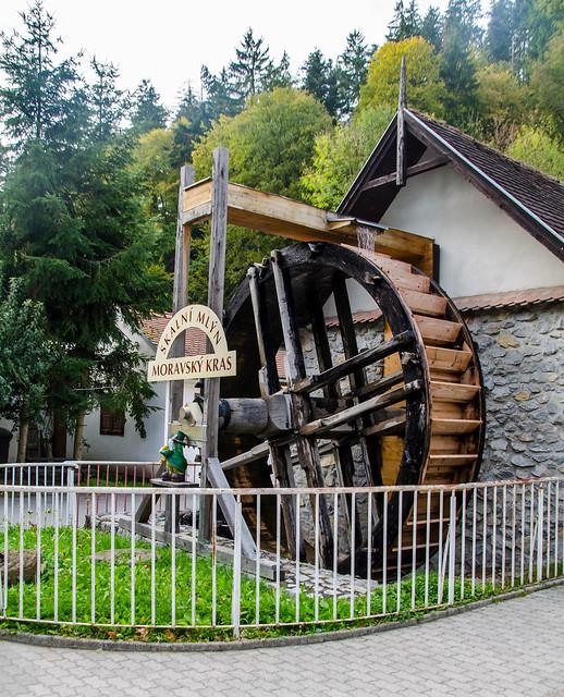 Скальная мельница