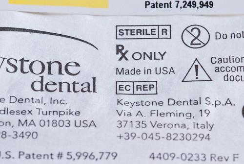 台中權泓牙醫診所 諾保科Nobel Biocare植體8