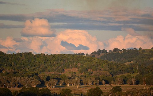winter sky clouds landscape horizon australia hills cumulus nsw australianlandscape lastlight lateafternoon northernrivers paperbarks sunsetlandscape richmondvalley maromcreek