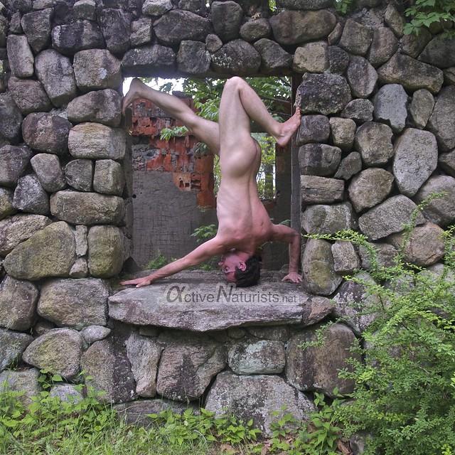 naturist 0073 Harriman State Park, New York, USA
