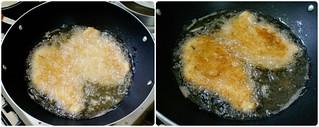 Fried Chicken Steak With Creamy Mushroom Sauce The Sweet