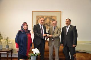 Πανεπιστήμιο Ιωαννίνων: Επίσκεψη Μορφωτικού Ακολούθου της Πρεσβείας της Αιγύπτου