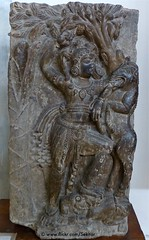 Krishna killing demon, 6th c., Paharpur Site Museum, Bangladesh