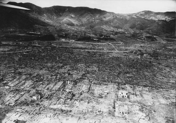 The Destruction of Nagasaki