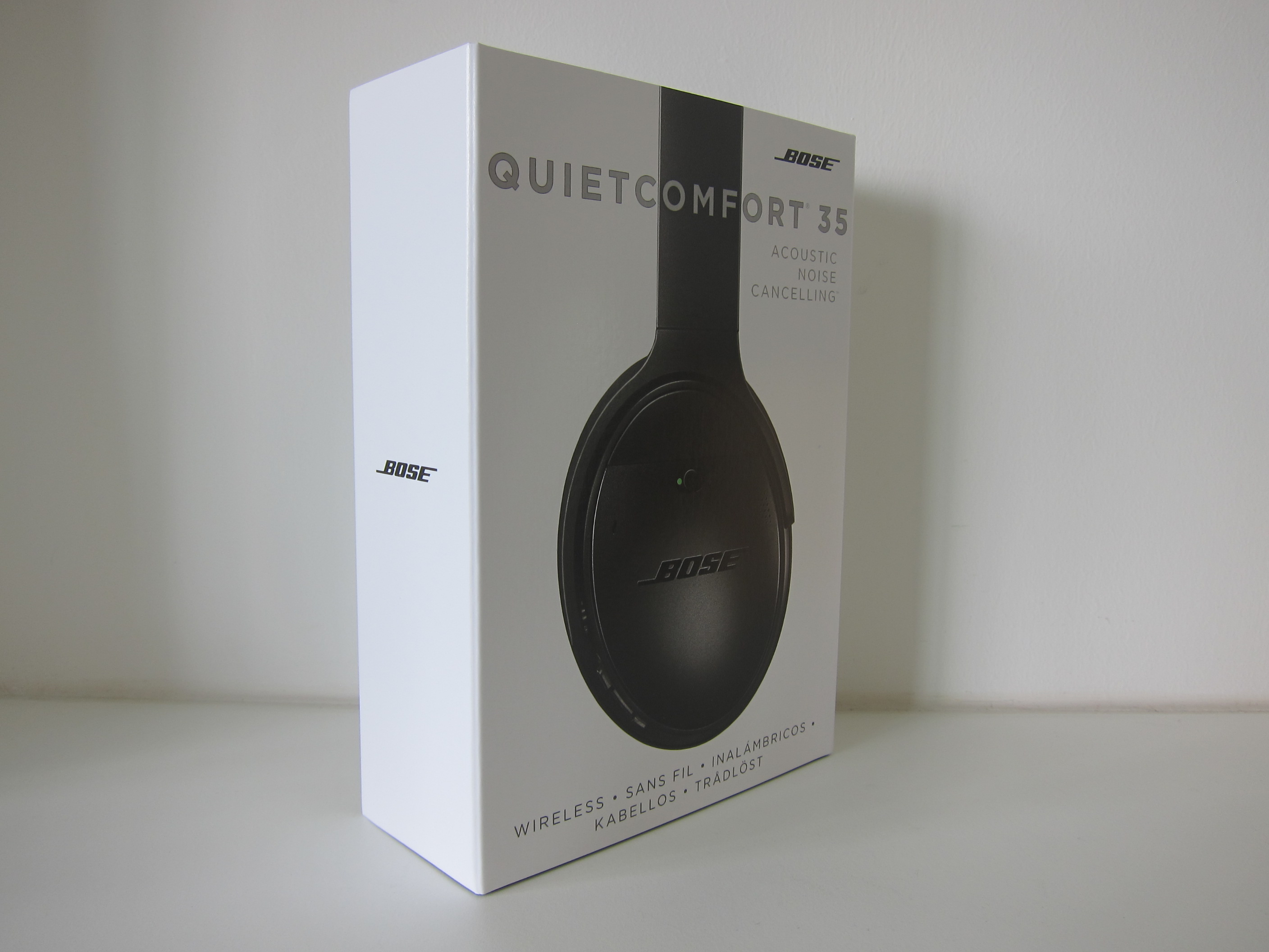 Bose QuietComfort 35 (QC35) Acoustic Noise Cancelling Wireless ...