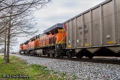 BNSF 6322 | GE ES44AC | NS Memphis District