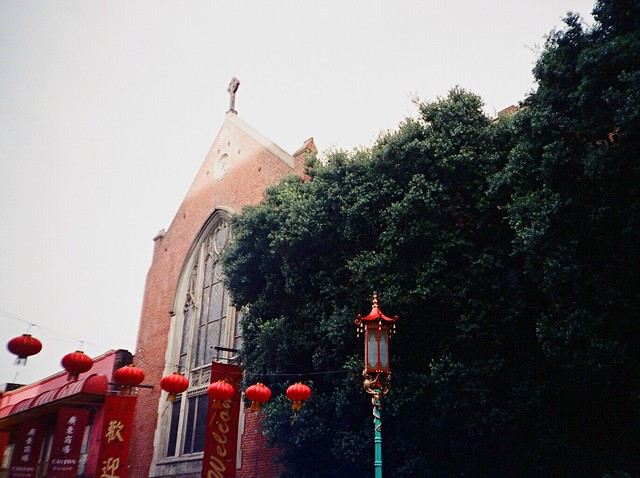 My Leica in China Town