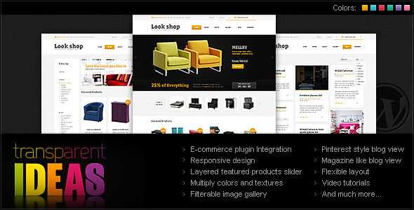 Lookshop WordPress Theme free download