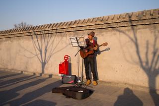 Beijing Streetmusic by romanboed