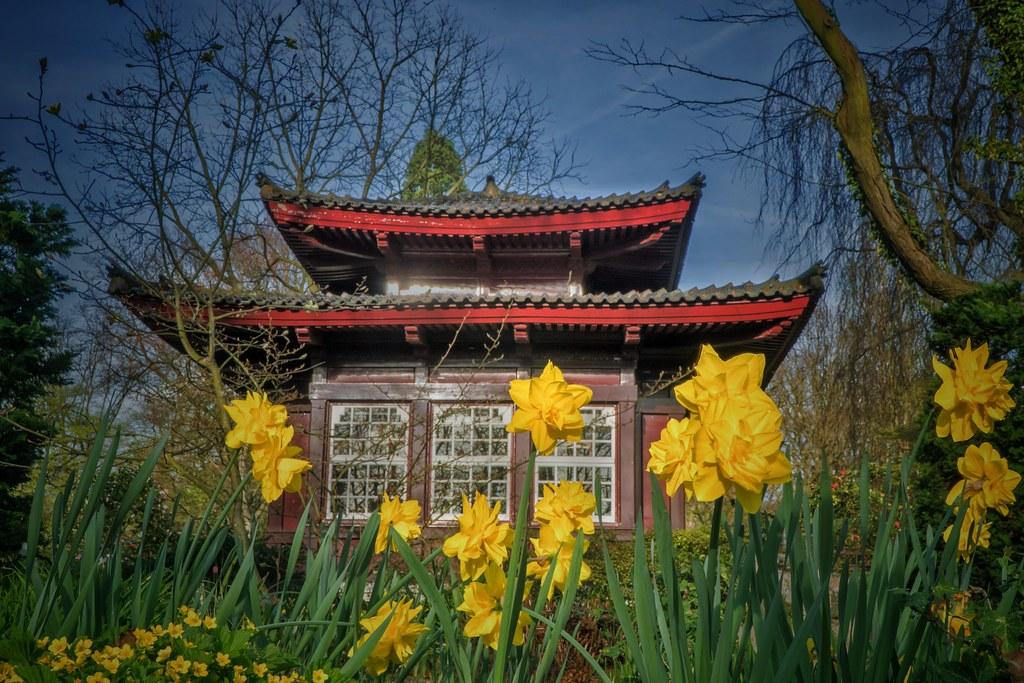 Japanischer Garten Leverkusen Der Japanische Garten Im K Flickr