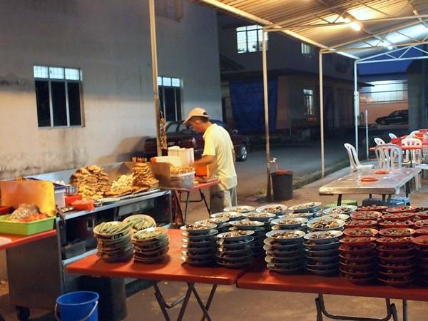 Hock Chin, Melaka - siham, cockles, sotong kangkung -003