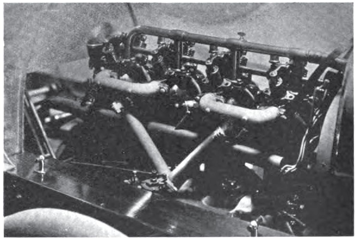 Ariel 4 cylinder intake side