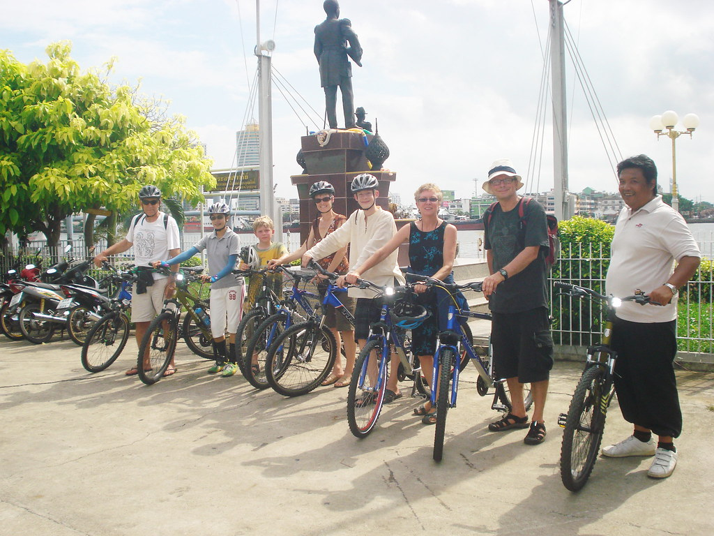 Touring bicycle in Bangkok