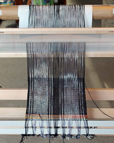 Earth Guild Rigid Heddle Scarves - Shadow Play - Header
