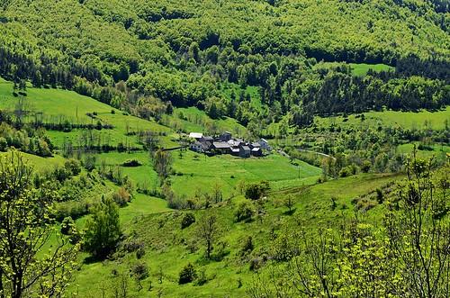 Small village of Lozère