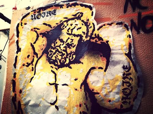 #SOSTEGNI#NOTTURNI#PAINT#MARKER#SPRAY#TRIP# by STENCILNOIRE