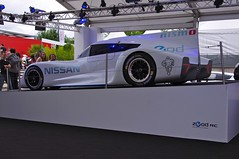 The Nissan ZEOD RC - An all Electric Car that will be entered into the Le Mans 24 Hours 2014