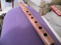 flute, purple, wind instrument,