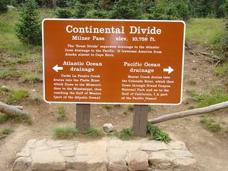 17 Continental divide (milner pas)