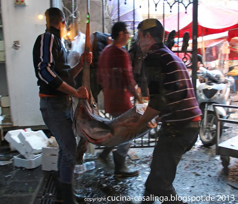 Catania Fischmarkt 5