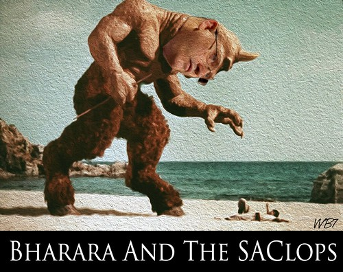 BHARARA AND THE SAC-lops by WilliamBanzai7/Colonel Flick