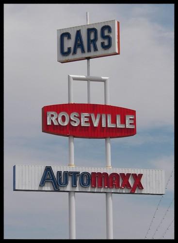 Big Car Sign