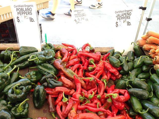 Organic Hot Portugal Peppers