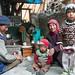 Ladakhi Family in Skyu Village - Ladakh, India