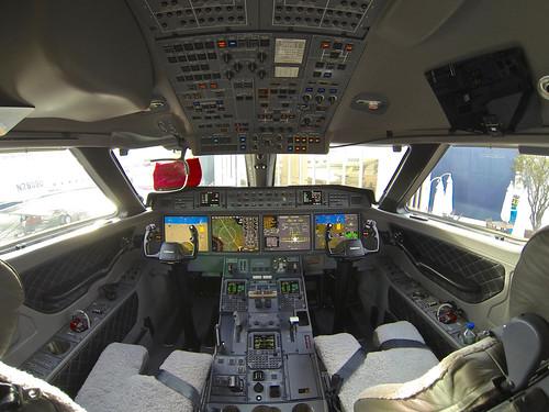 G650 Cockpit