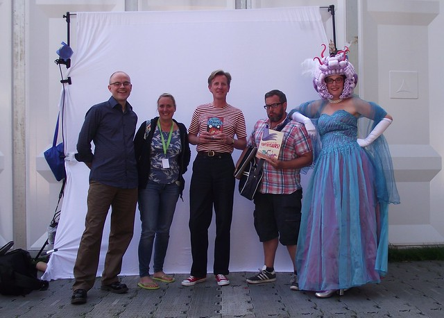 Edinburgh Book Festival 2013 - more Seawigosaurs