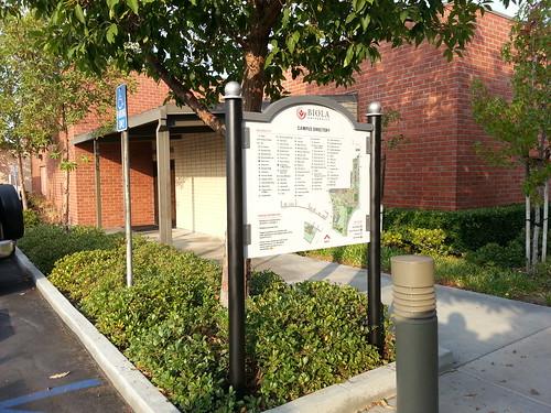 Biola University pedestrian directory