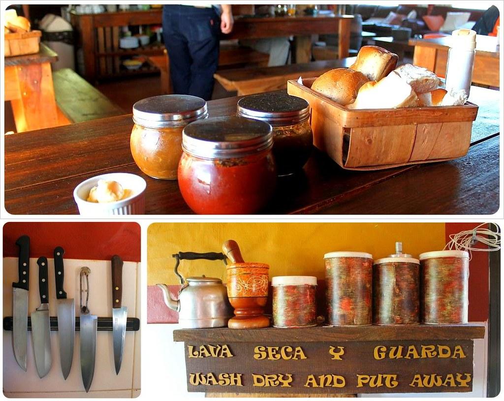 Uruguay Hostel De La Viuda Breakfast