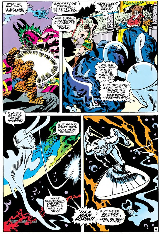 Silver Surfer 4 1969 John and Sal Buscema source for Slurpee