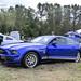 A Sleek Blue Late Model Ford Mustang at 2013 HFM Props & Ponies... by AvgeekJoe