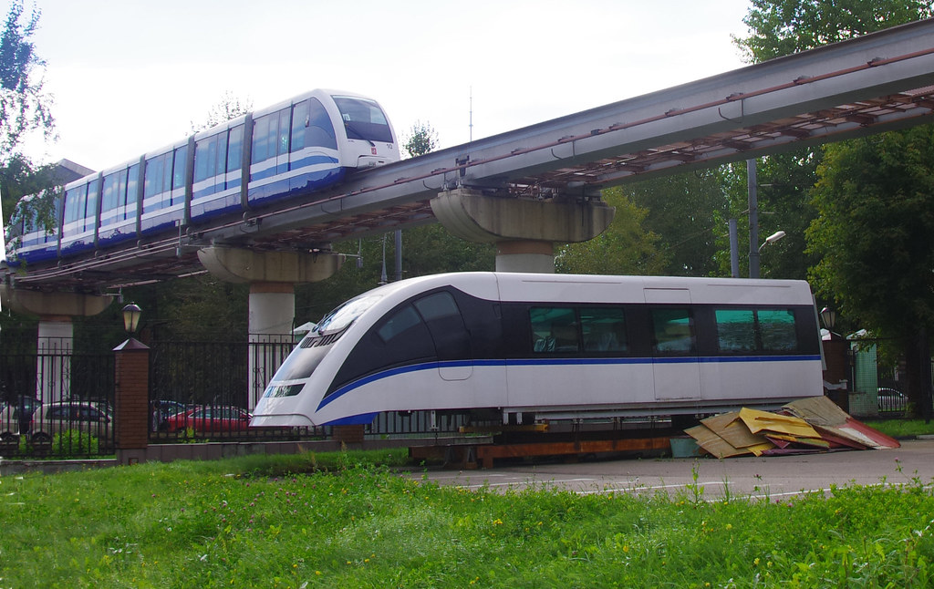 Moscow monorail sample car