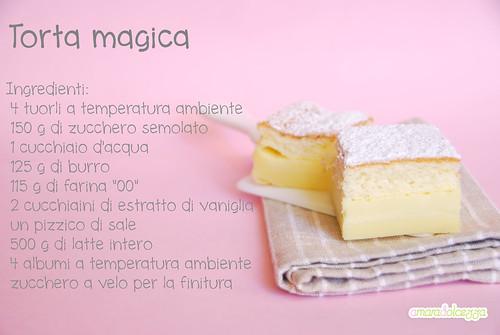 torta magica ingredienti
