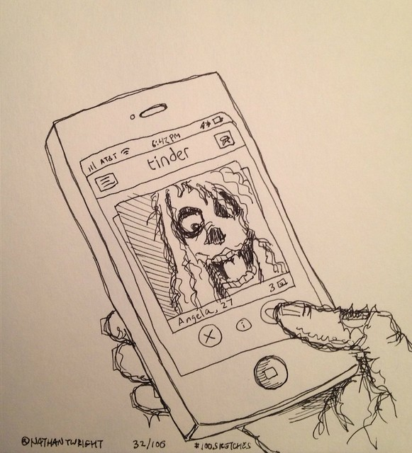 If dating apps exist after the zombie apocalypse