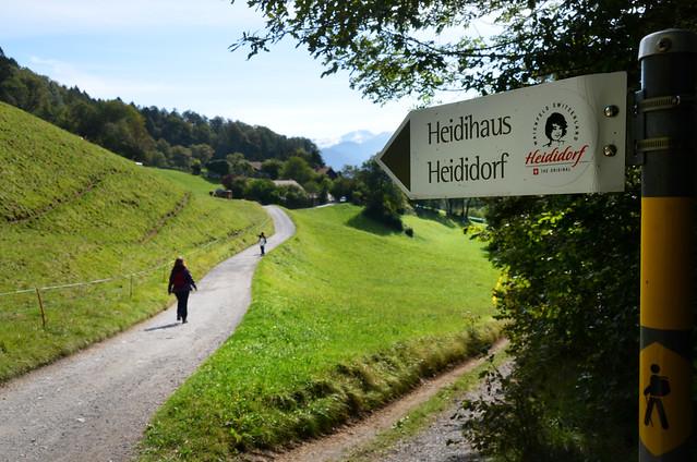 Camino a Heididorf sendero