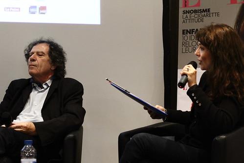 Alain Veinstein et Karine Papillaud