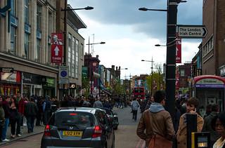 Camden High Street, la rue principale de Camden Town