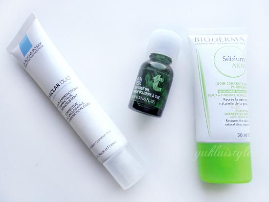 Spot Free Skincare Routine
